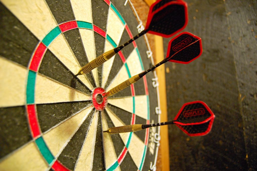 A well developed business database allows to target your audience better and darts are representing this